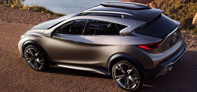 Very close to production intent is the Infiniti QX30 Concept pact