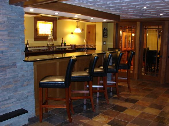 Lovely Ideas for Building A Bar In Basement