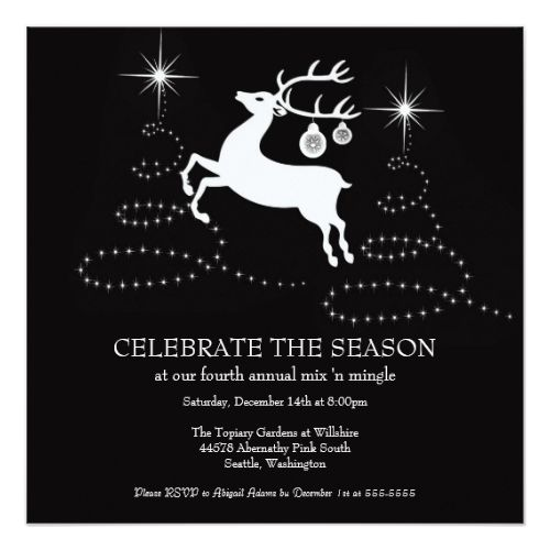 Invitation for A Christmas Party