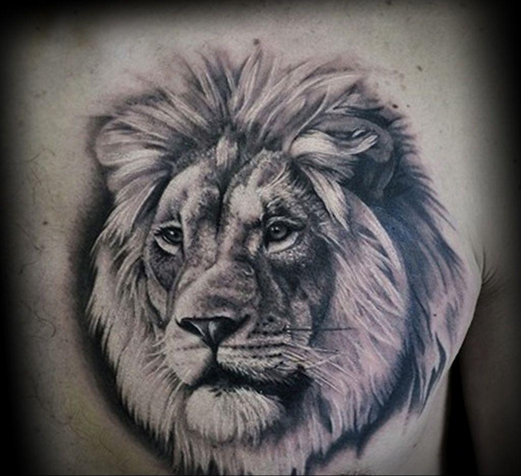 татуировки со знаком зодиак лев