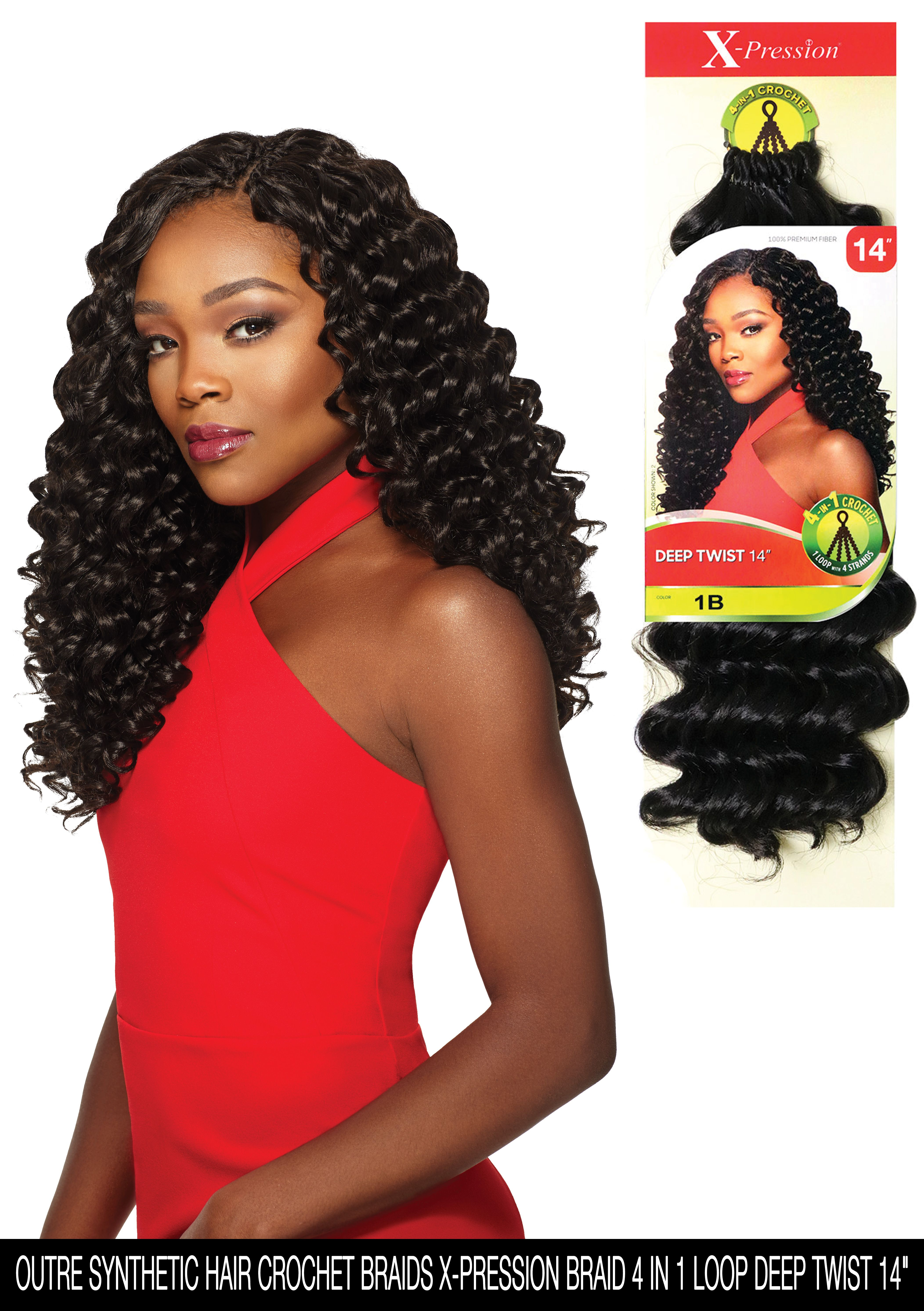 Check Out This Hot Item OUTRE SYNTHETIC HAIR CROCHET BRAIDS X