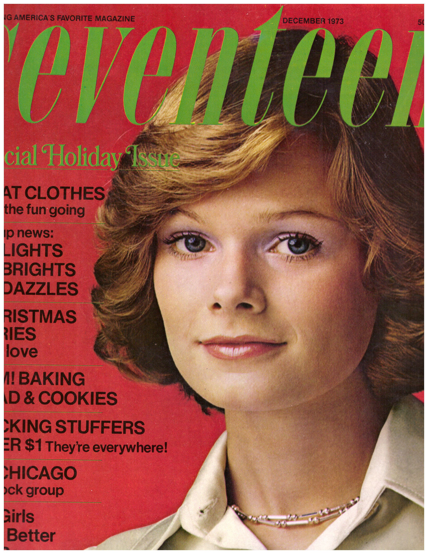 1973 seventeen vintage fashion christmas holiday magazine