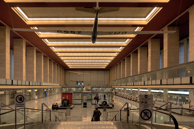 Berlin Tempelhof Airport Flughafen BerlinTempelhof