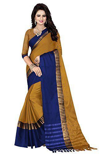 87602bc1f0d Crazy Women s Cotton Silk Saree With Blouse Piece (Sivmani 102 ...