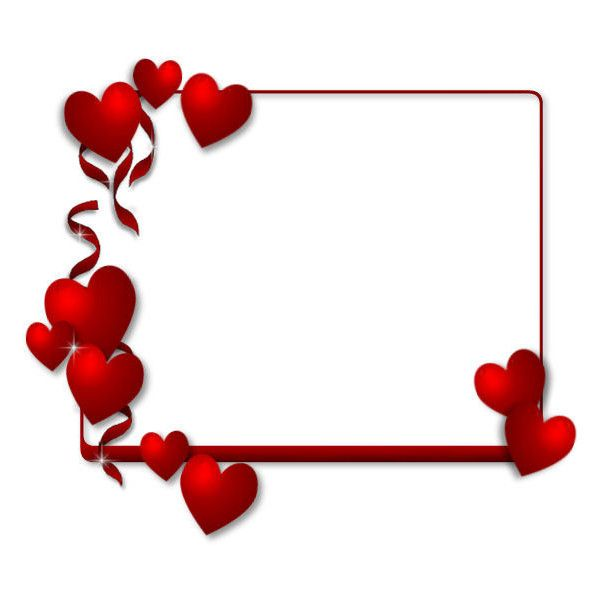 Image Of Heart Frame Photobucket Video And Image Hosting Liked On Polyvore Heart Frame Printable Valentines Coloring Pages Valentine Coloring Pages