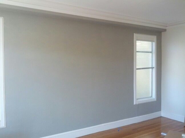 Living Room Redo Benjamin Moore Rockport Gray Painted Walls