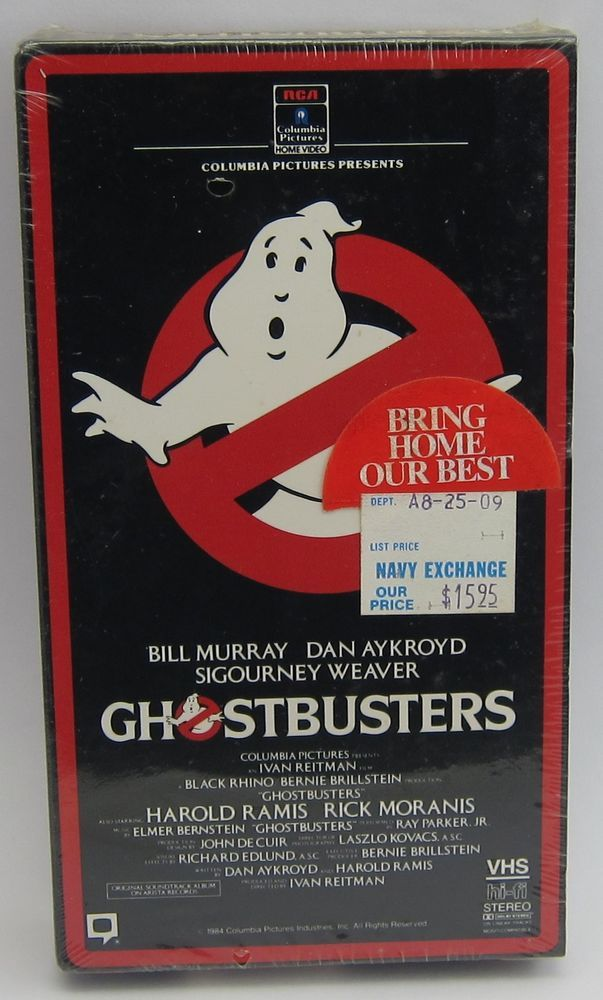 Ghostbusters (VHS) – SEALED