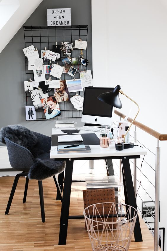 Female Home Office Design Ideas