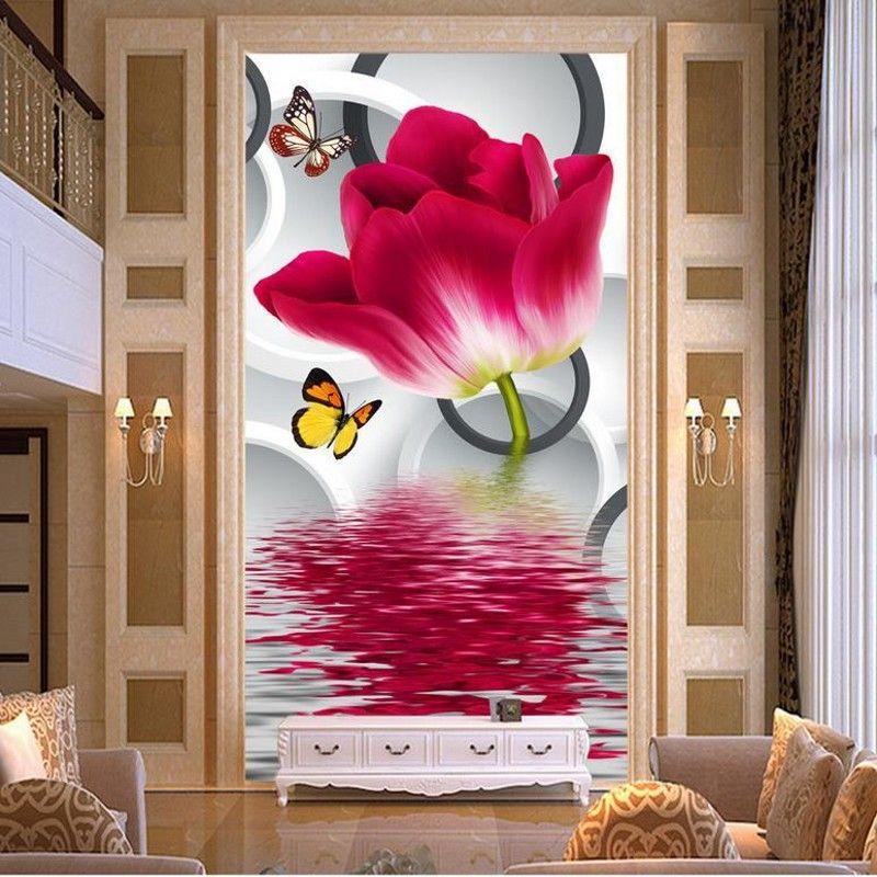 Cheap Flower House Wallpaper Buy Quality Flowering Hostas Directly From China Wallpaper Garden Suppliers Hd Bambo Wall Wallpaper Mural Wallpaper Mural
