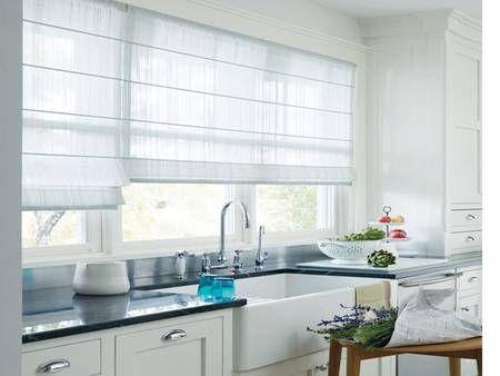 cortinas para cocinas modernas fotos - Cortinas Cocina Moderna
