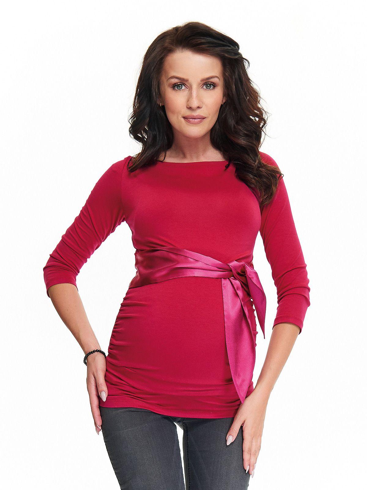9bbf053a Elegancka bluzka ciążowa Sierra to idealny model dla przyszłych mam ...