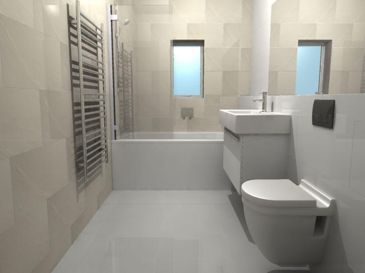 Long Bathroom Mirror Large Tile Small Bathroom Ideas Bathroom Tiles For Small Bathrooms Http Bathroom Design Small Bathroom Ideas Uk Grey Bathroom Wall Tiles