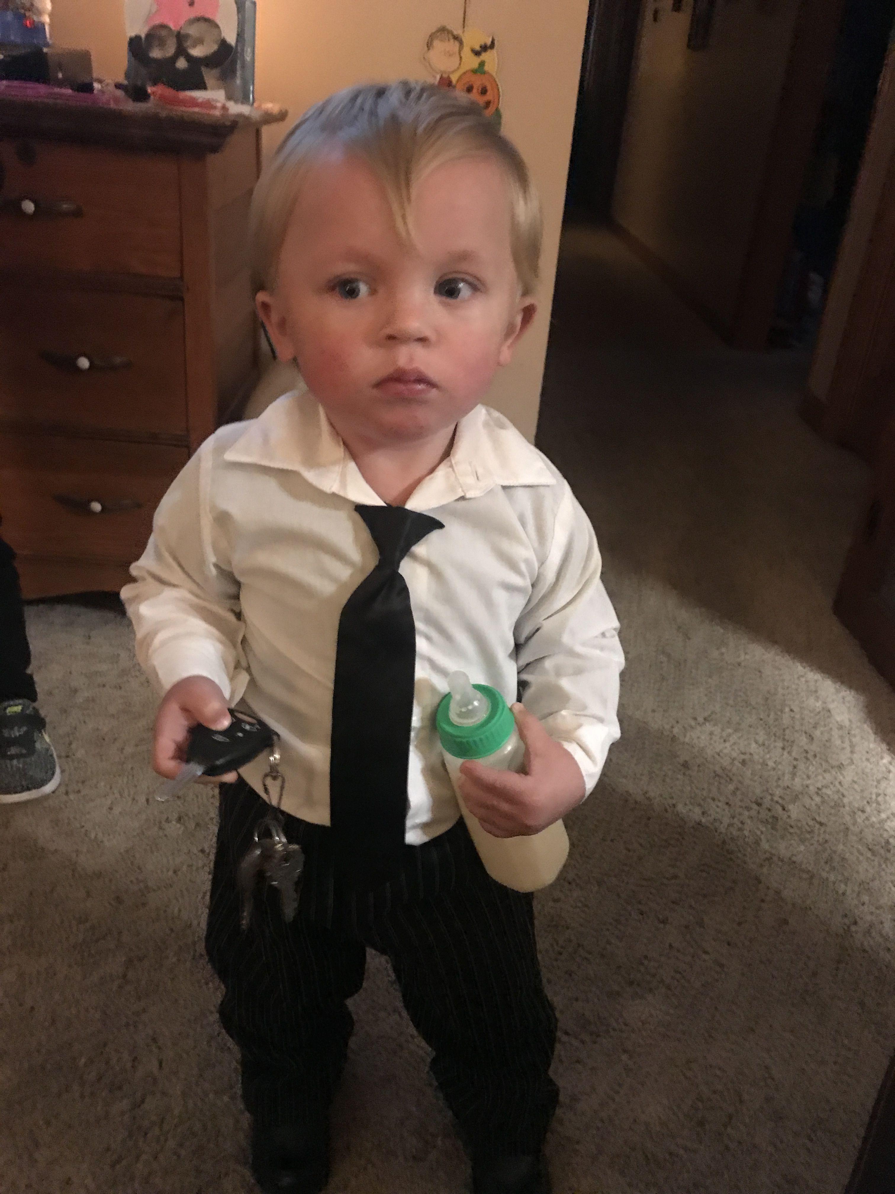 the boss baby costume   infant halloween costumes   pinterest
