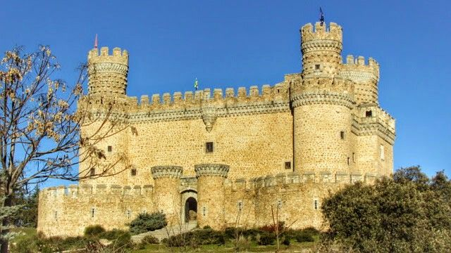 Castillo de Manzanares el Real. LoaSegAc