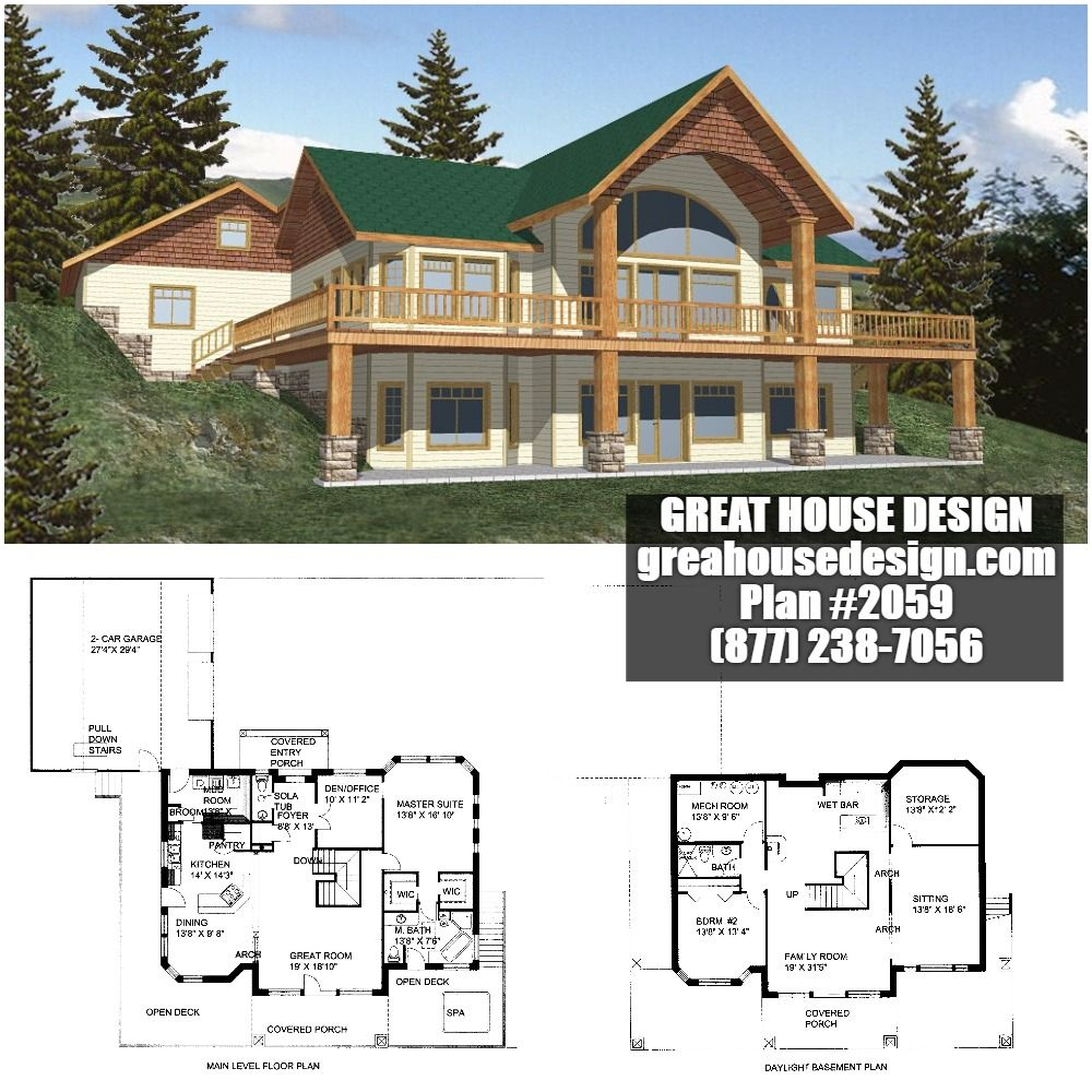icf home designs%0A ICF Mountain House Plan        Toll Free