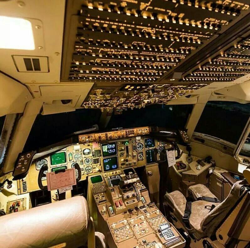 Boeing 767 cockpit | Civil Aviation | Flight simulator cockpit