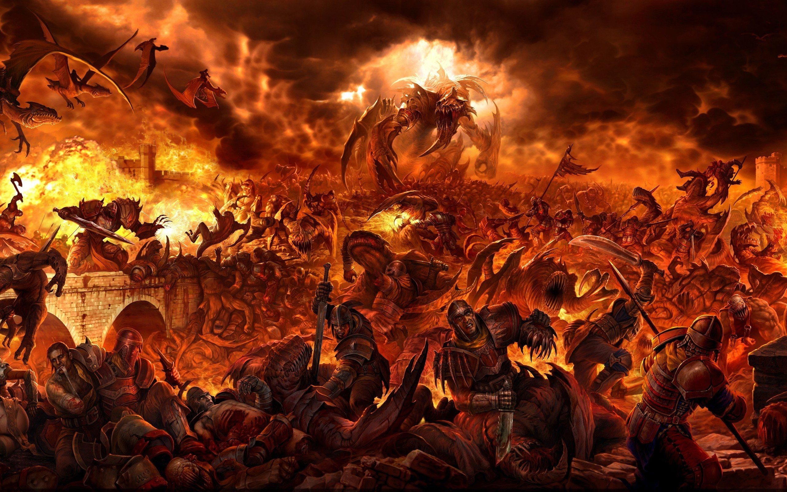Epic Desktop Wallpapers And Backgrounds Epic Battle Desktop Wallpapers And Backgrounds Fantasy Battle Fantasy Fire Demon