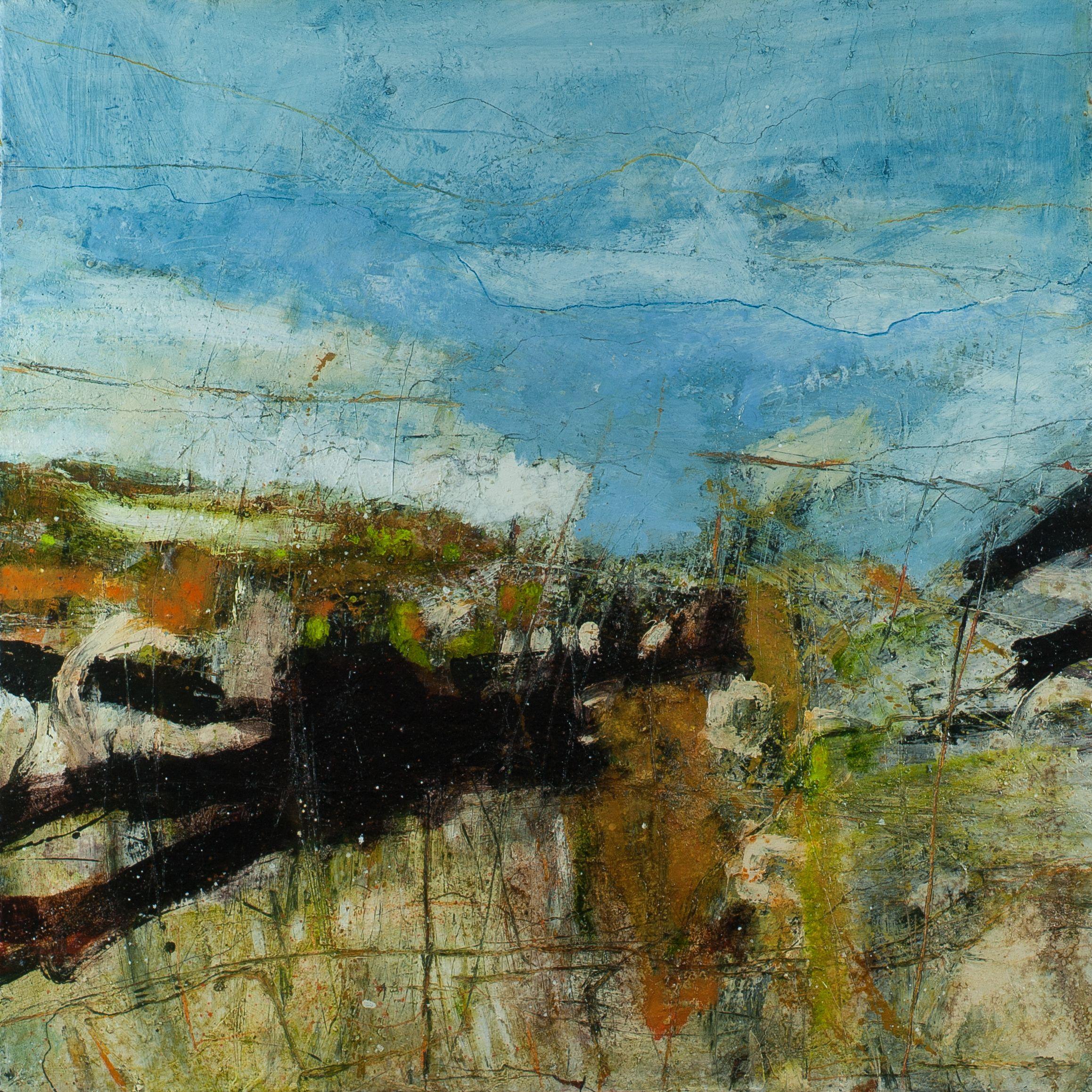 Contemporary british landscape paintings modern art