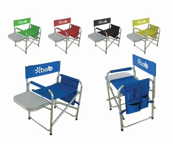Director S Folding Tailgating Chair With Side Table Chair Dimensions 22 83 X 19 29 X 30 71 Side Table Dimensio Tailgate Chairs Metal Bistro Chairs Chair