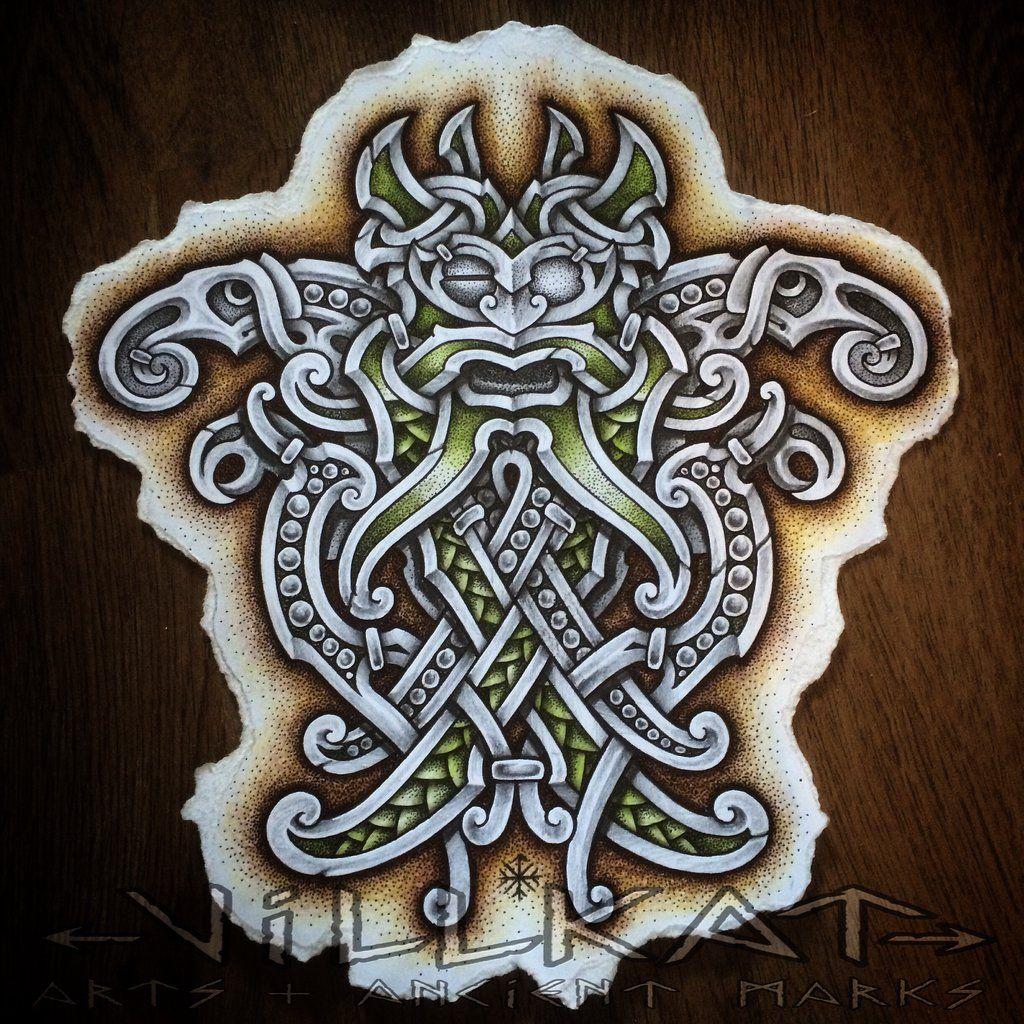 Raven Viking Tattoo: Image Result For Viking Art 2 Ravens