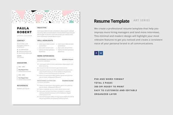 Nice Resume Template -  - fonts for resume