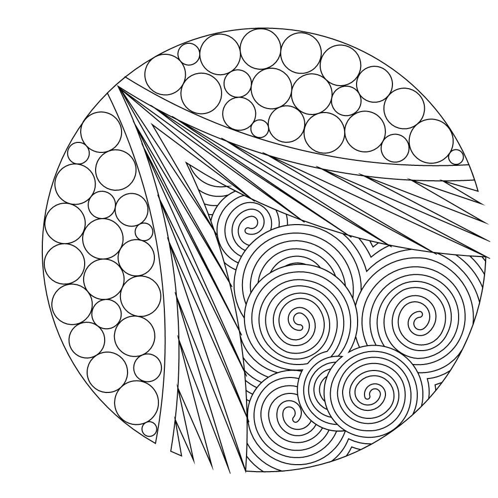 Shop | Category: Compass or Circle patterns | Product: VC Modern zen ...