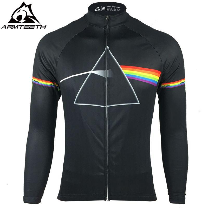 2017 Pink Floyd Cycling Pro Long Sleeve Jersey Men MTB Shirts Breathable Bike  Clothing Quick Dry b087e5d0e
