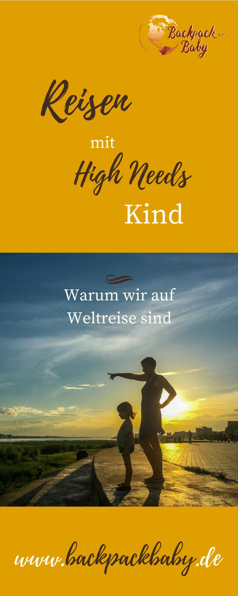 Reisen mit High Needs Kind | Weltreise mit kind, Reisen
