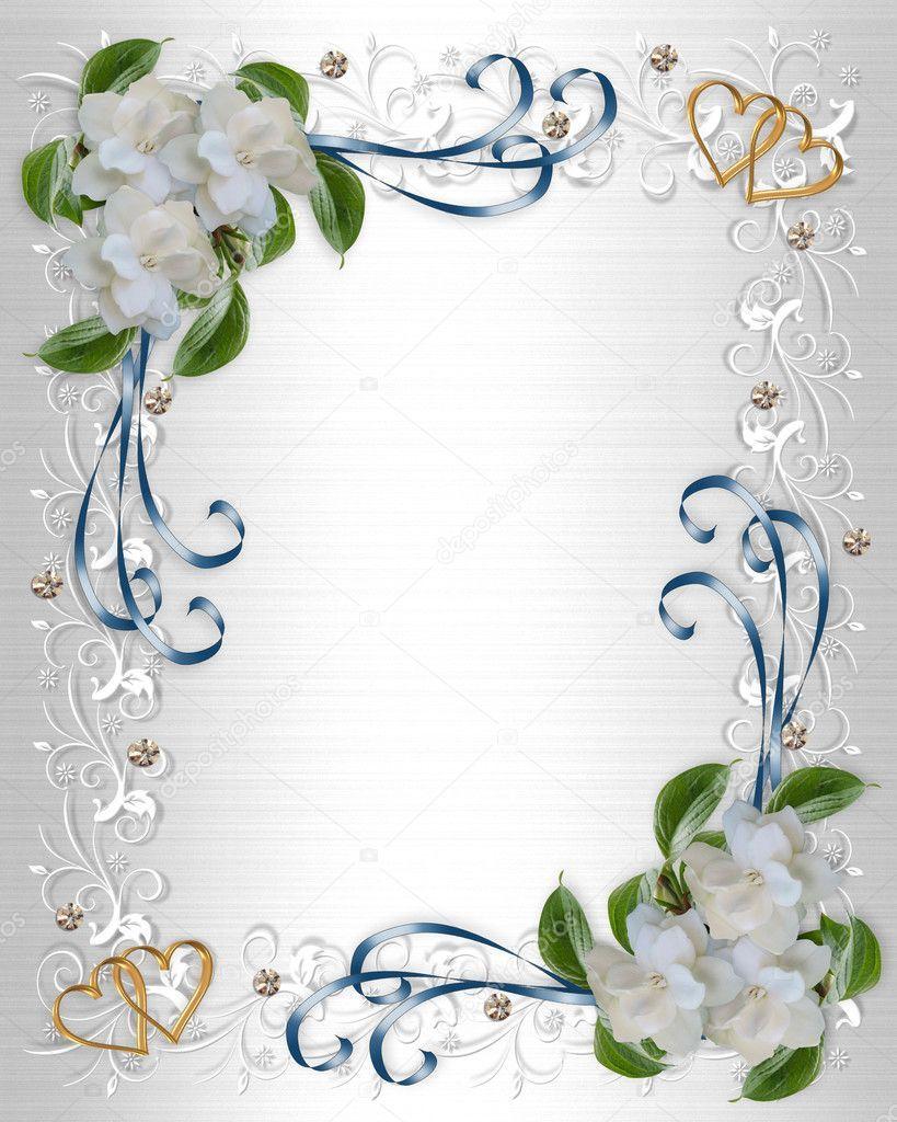 Gardenias Blancs Pour Fond D Invitation Saint Valentin Ou De