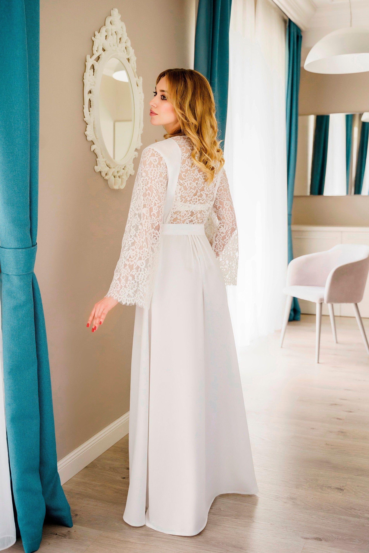 Long Bridal Robe Sheer Robe Ivory Lace Robe Lace Kimono Etsy Long Bridal Robe Bridal Robes Lace Bridal Robe [ 3000 x 2000 Pixel ]