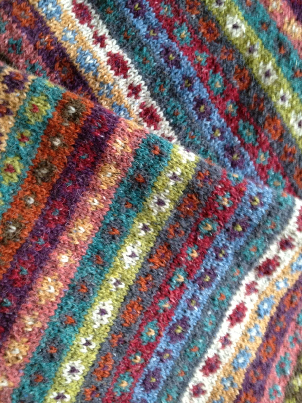 Kaffe Fassett | Emilia stickar | Baby knitting patterns