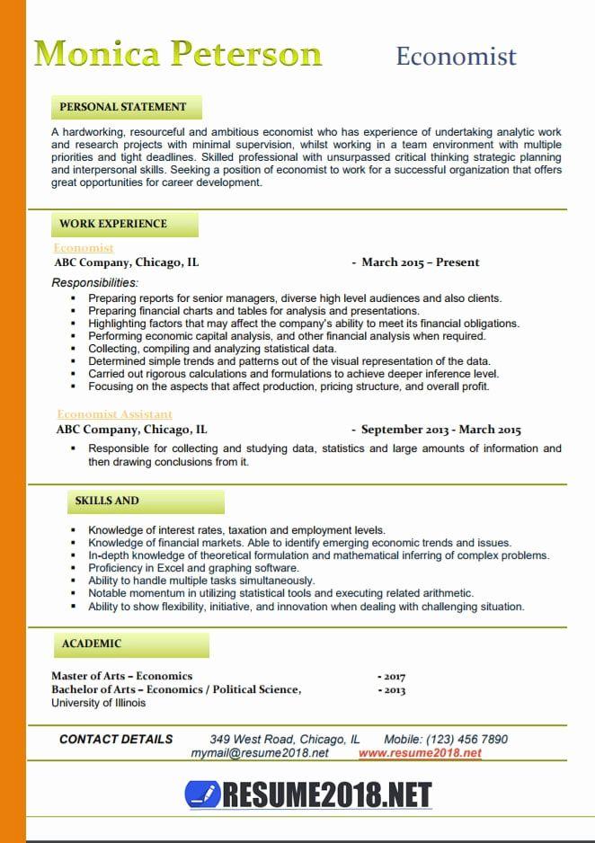 Resume Format Trends 2018 Resume Format Resume Templates New