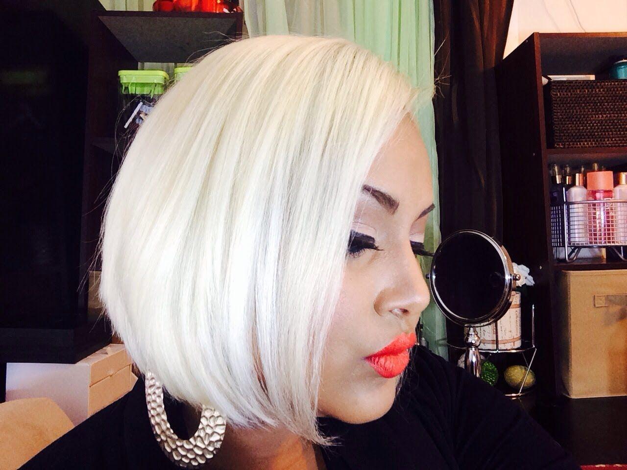 How to get platinum blonde hair youtube platinum hair