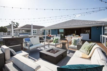 dramatic deck and patio makeovers by drew and jonathan scott
