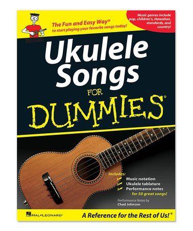 ukulele songs for dummies paperback zulilyfinds