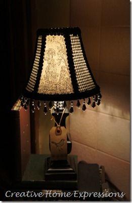 Lampshade Love Painting Lamp Shades Lamp Shades Dark Home Decor