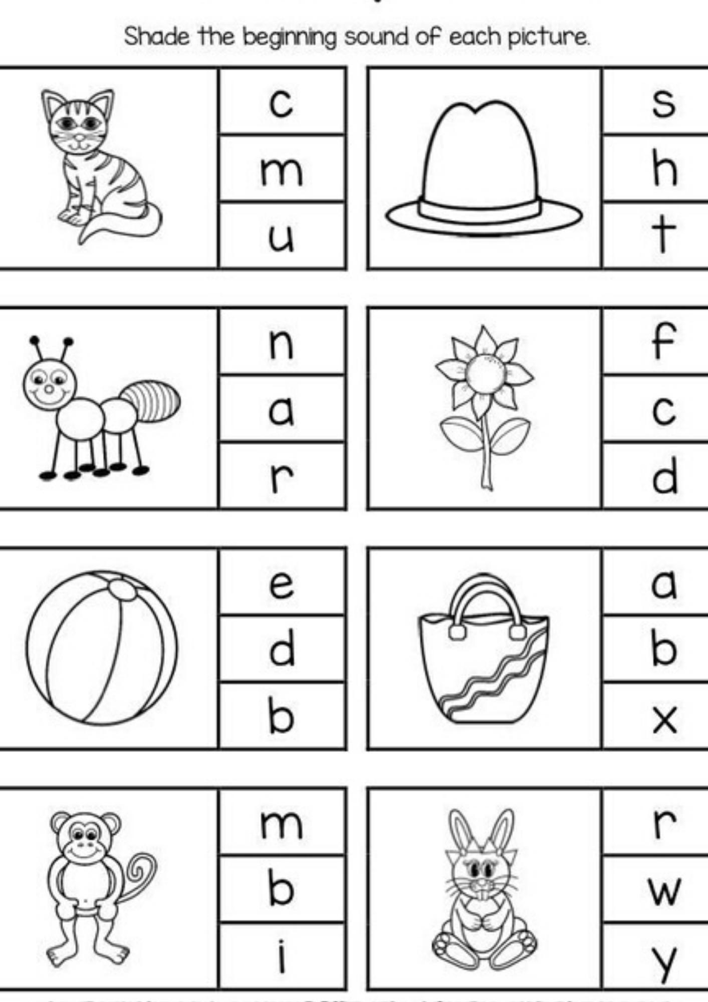 Free Printables For Teaching Preschoolers Literacy In
