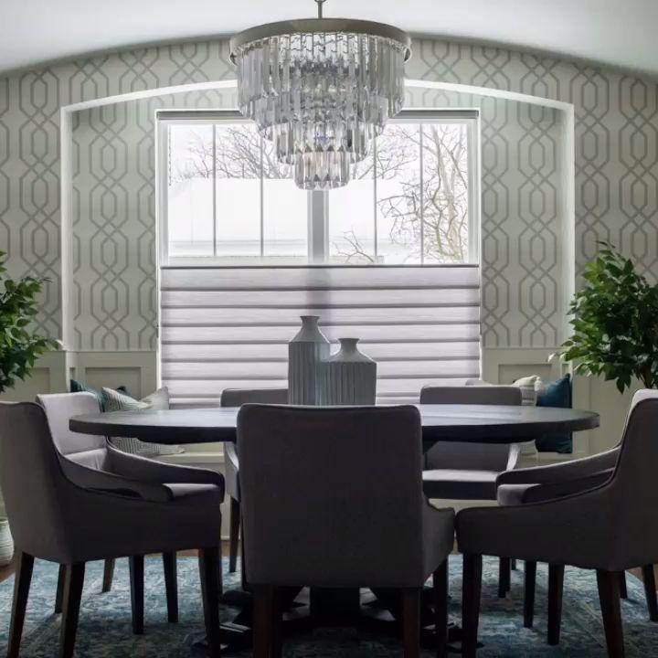 Modern Roman Shades Video Dining Room Windows Modern Roman Shades Kitchen Window Treatments With Blinds