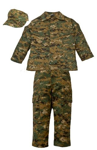 Kids Woodland Digital Marine Costume  sc 1 st  Pinterest : kids marine costume  - Germanpascual.Com