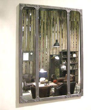 Miroir esprit Atelier Chehoma métal PM 195€ 60x83