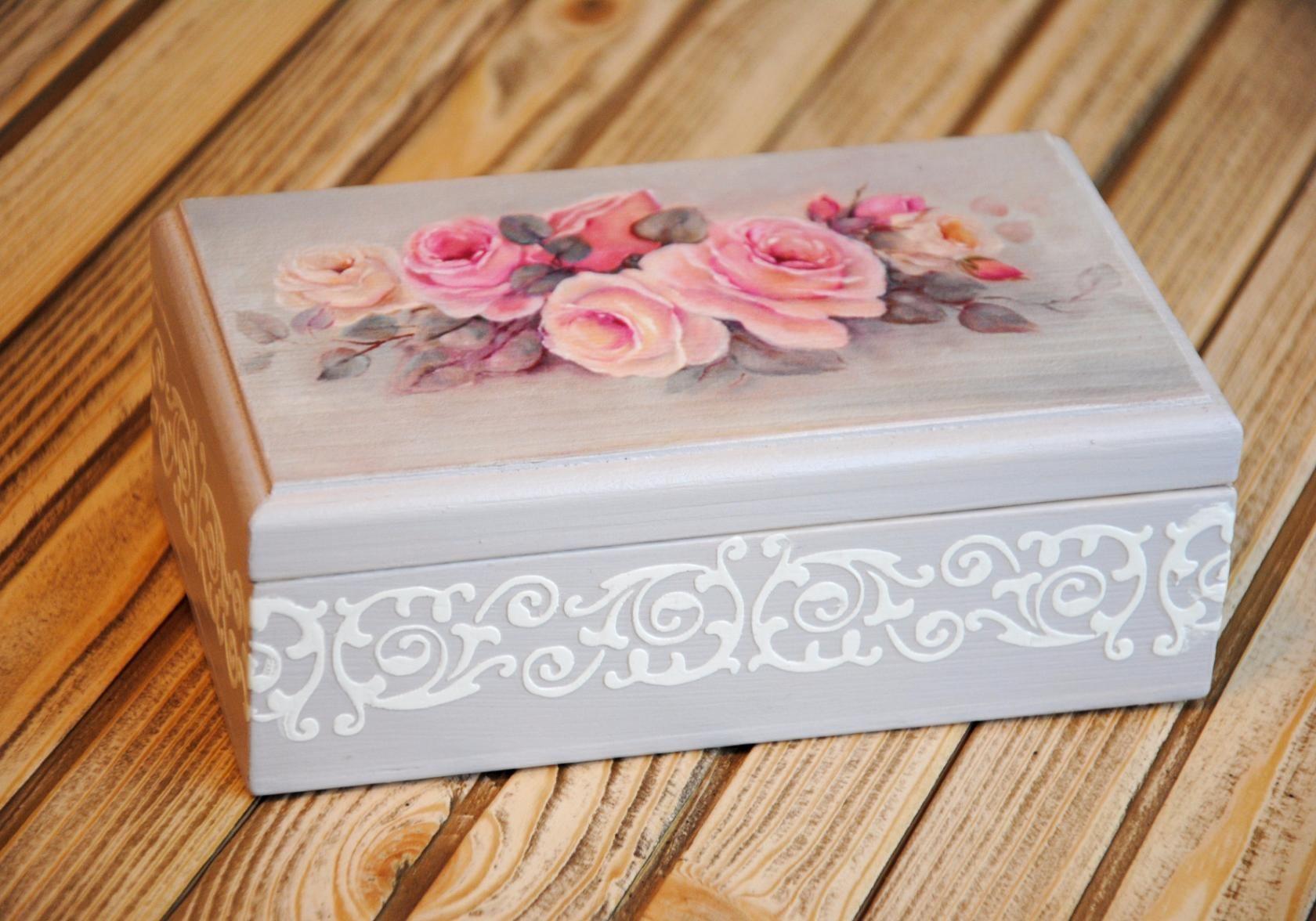 получить декор коробок своими руками в картинках грибов прорастают