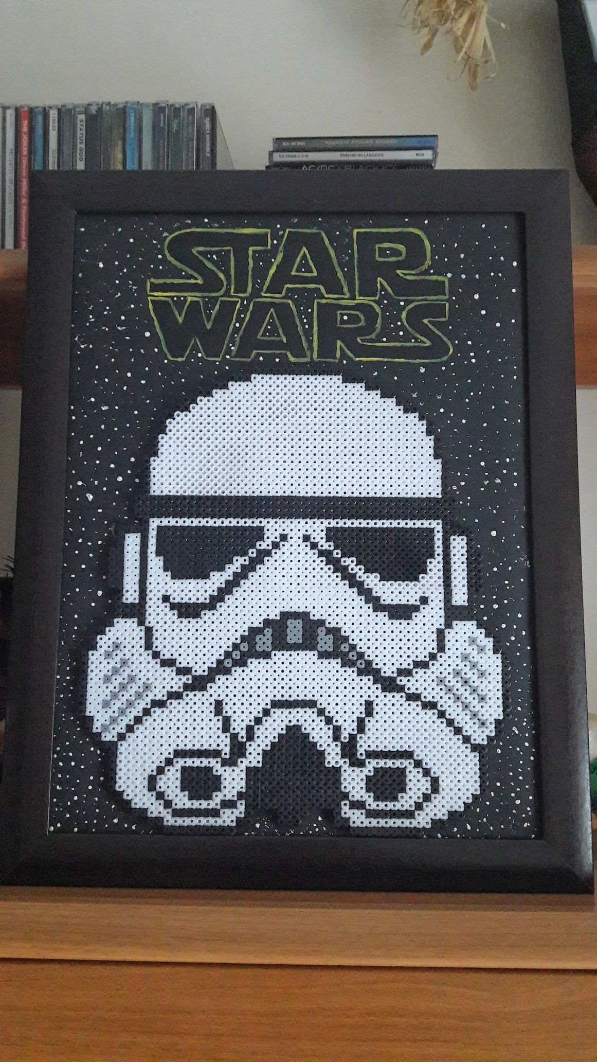 Stromtrooper hama beads Star Wars