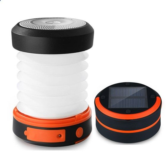 Emergency Preparedness Solar Lantern and Portable Device Cell Phone Charger