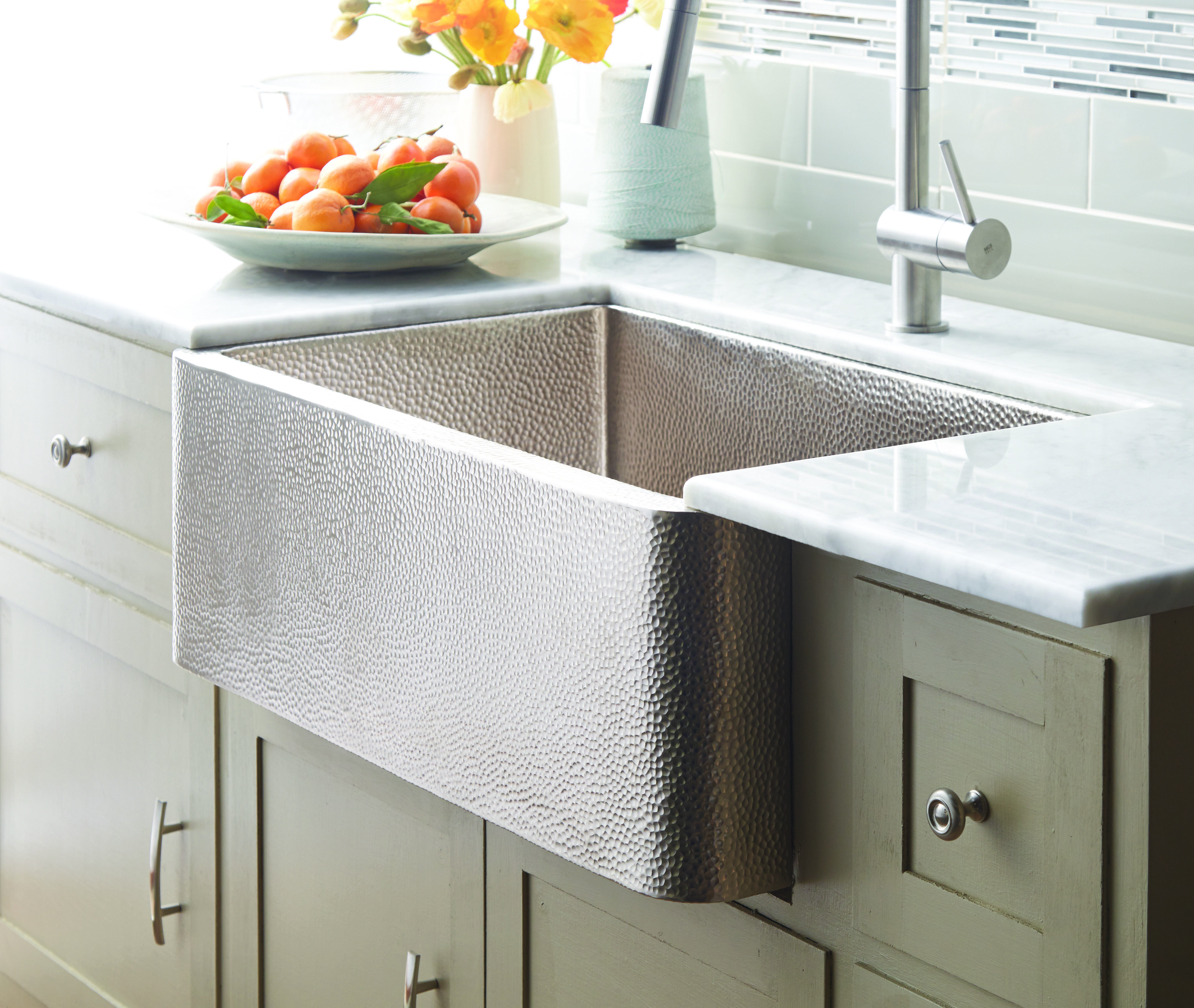 Farmhouse 30 Sets A Precedent For Popularity This 30 Inch Single Basin Farmhouse Sink Offers A Apron Front Kitchen Sink Copper Kitchen Sink Apron Sink Kitchen