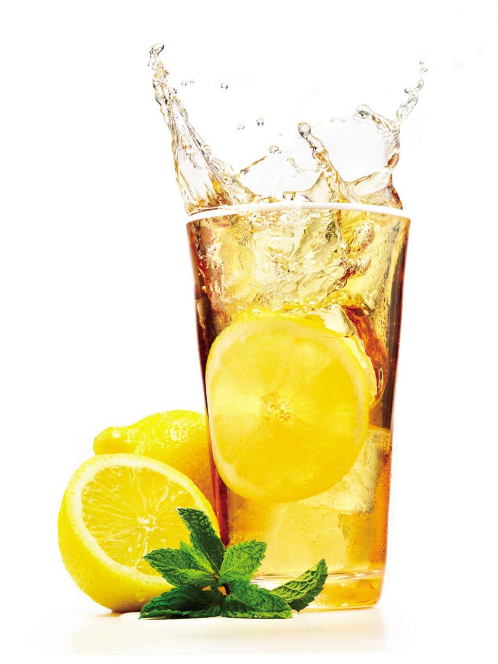 Iced Lemon-and-Ginger Green Tea