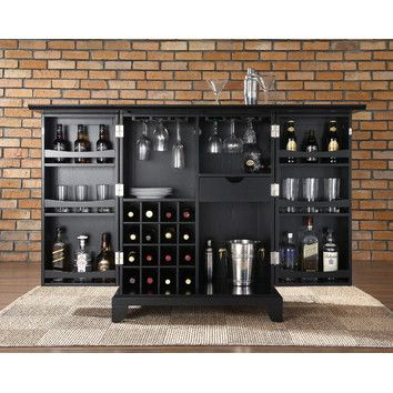 Inspirational Crosley Furniture Cambridge Expandable Bar Cabinet