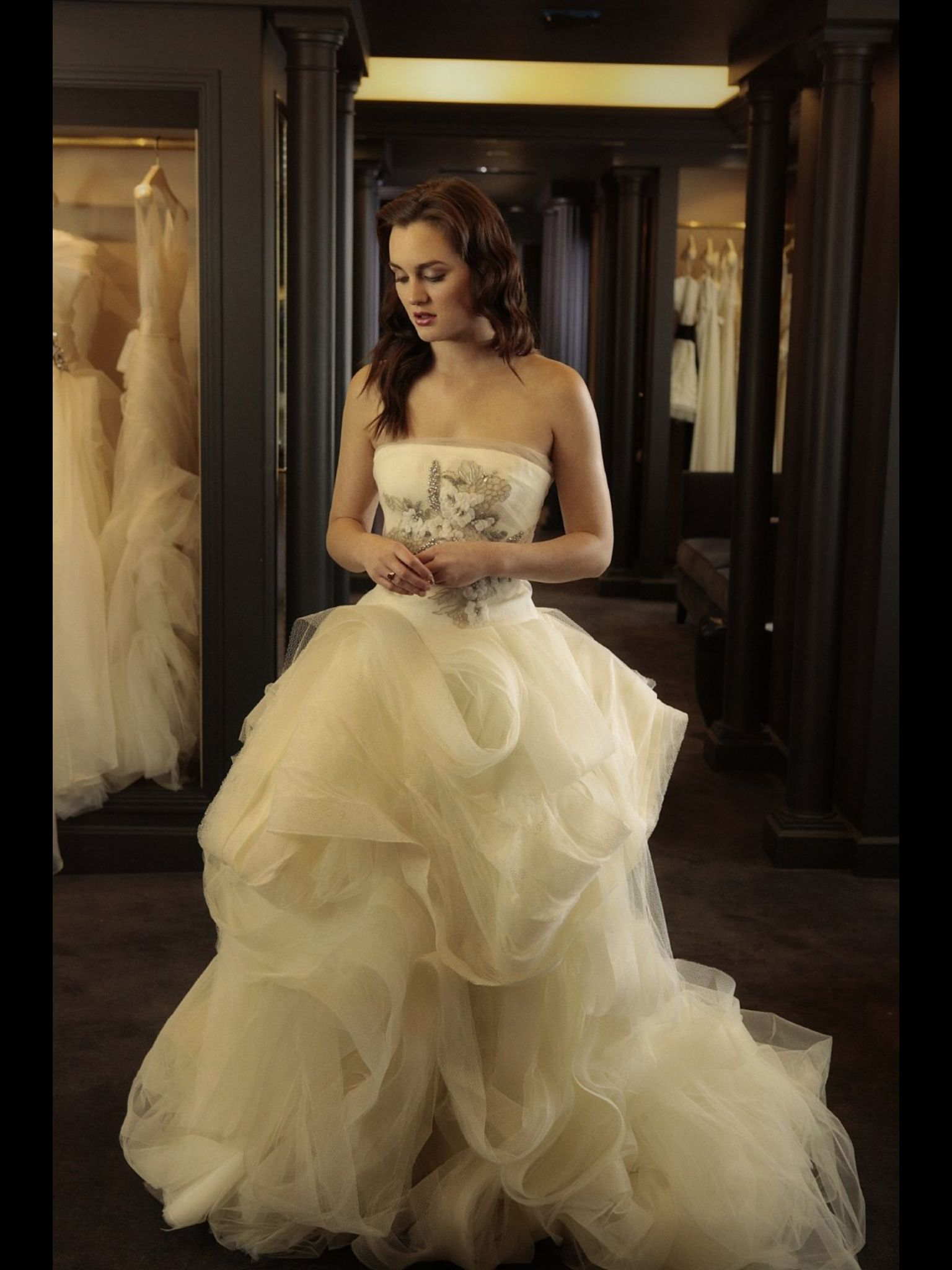 Gimmi wedding dresses vera wang gossip girl fashion