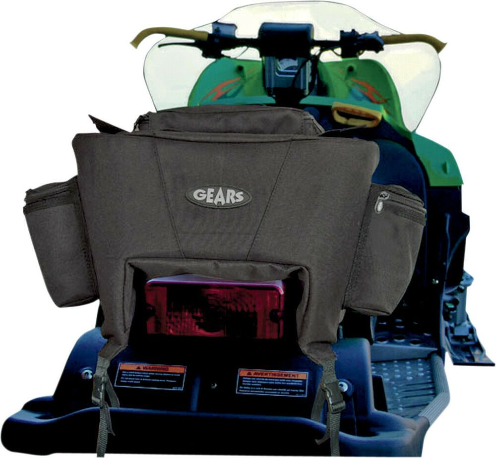 Sponsored(eBay) Gears Snowmobile Luggage Tail Bag For Arctic