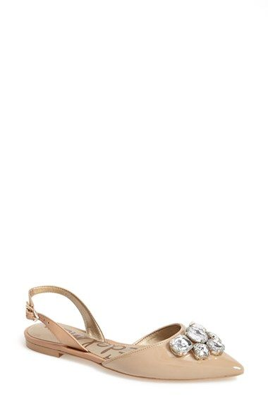 e89d27eb2fd Sam+Edelman+ Reece +Slingback+Pointy+Toe+Flat+(Women)+available+at+  Nordstrom