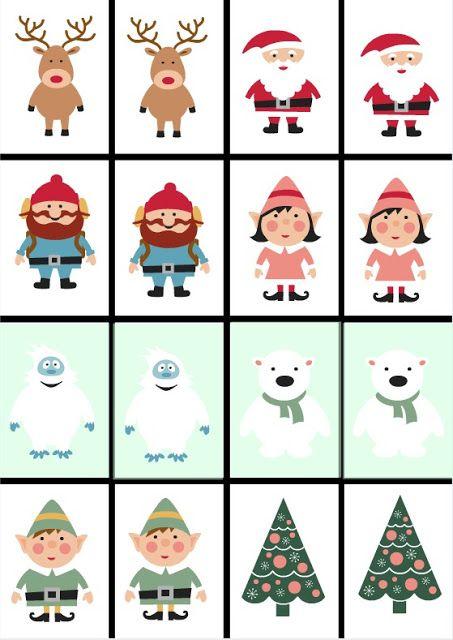Free Printable Christmas Games for Kids-2 | Making Life Blissful